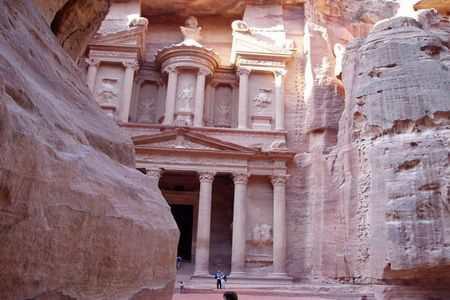 Иордания, Петра - розовый каменный город