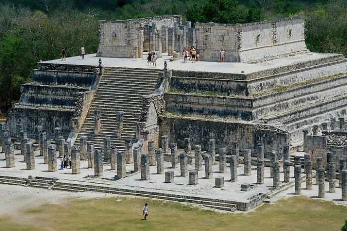 Храм воинов, Чичен-Ица
