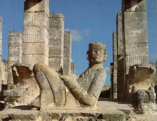 Город пирамид Майя