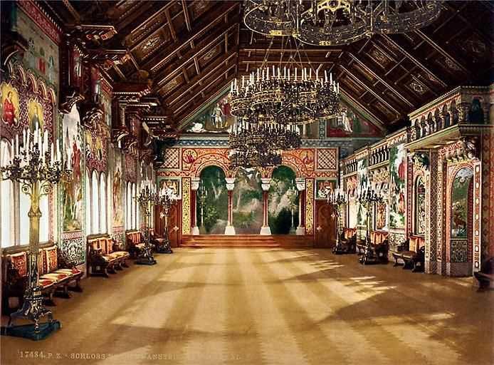 Зал певцов в замке