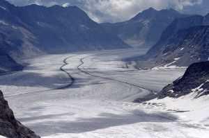 Ледник Алеч в Швейцарии