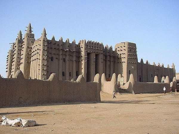 Малийский город Тимбукту