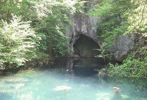 Пещера Врело