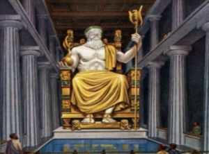 Храм и Статуя Зевса в Олимпии