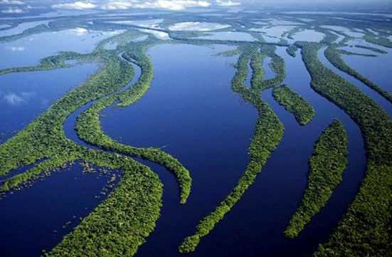 Амазонка самая длинная река на свете
