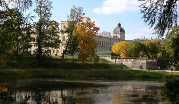 Большой Гатчинский дворец и Гатчинский парк