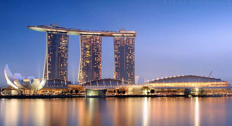 Сингапур Marina Bay Sands