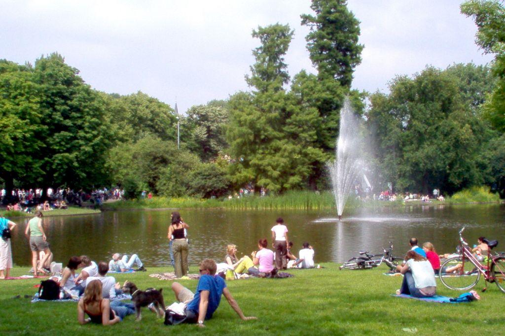 Vondelpark Амстердам