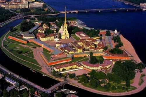 Петропавловская крепость Санкт-Петербурга