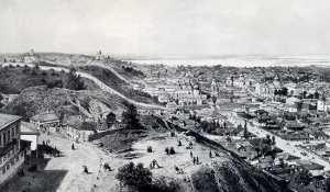 Старокиевская и Замковая горы
