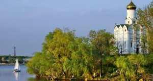 Монастырский остров Днепропетровск