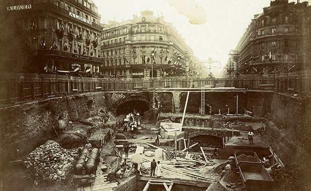 История парижского метро