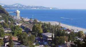 Курортный город Адлер