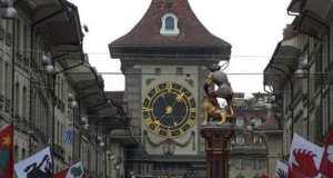 Башня Цитглогге с часами