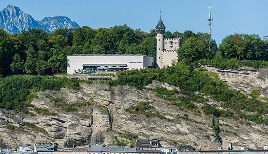 Музей современного искусства на горе Мёнхсберг