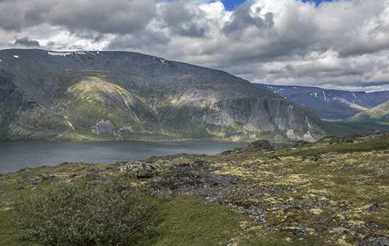 Гора Вудьяврчорр