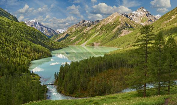 Активный отдых на Золотых горах Алтая